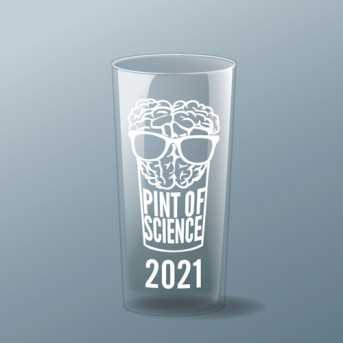 Pre-order Pint of Science 2021 pint glass